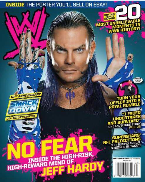 WWE Magazine Jeff Hardy